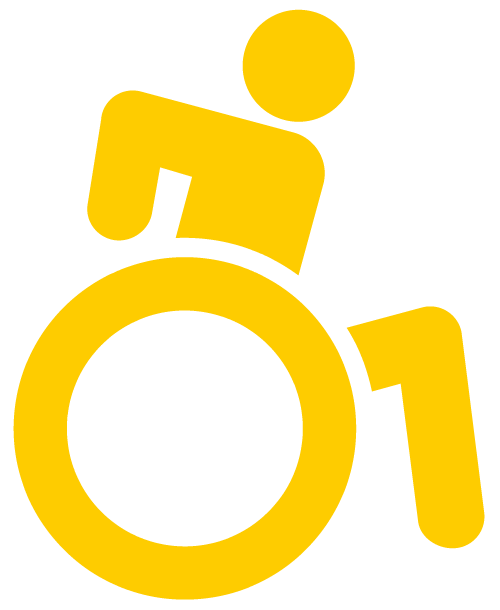 sz-Rollisymbol neutral (gelb)