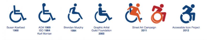 Historie des Behindertensymbols